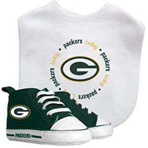 NFL Green Bay Packers Baby Bib & Pre Walker Set